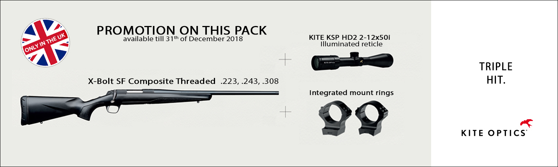 X-BOLT SF & KITE OPTICS