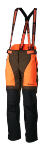 TROUSERS, X-TREME TRACKER PRO, ORANGE-GREEN